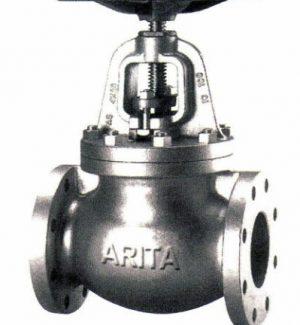 ARITA CLASS 125 Cast Iron Globe Valve Flanged End 1111